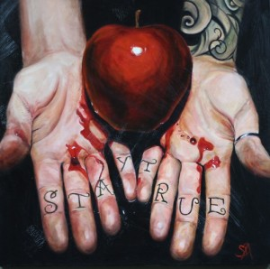 hands-apple-tattoo-oil-painting1-502x500