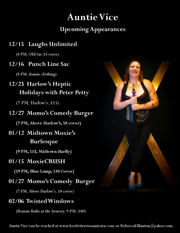 Upcoming Appearances