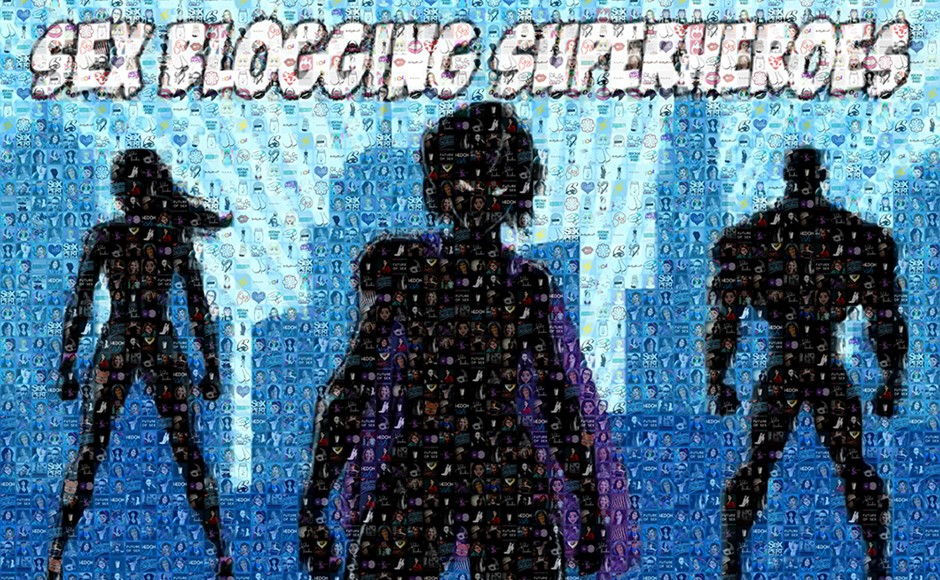 Sex Blogging Superheroes Logo